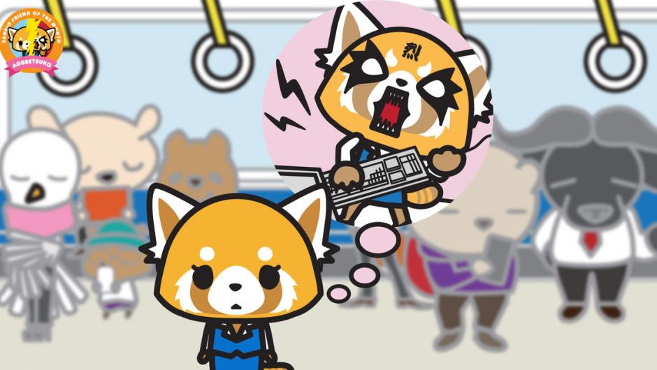 Aggretsuko Heavy Kawaii Contre La Frustration Au Travail